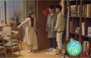 Cina - pubblicità mostra coppia gay