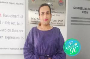 Paksitan prima poliziotta transgender - Reem Sharif