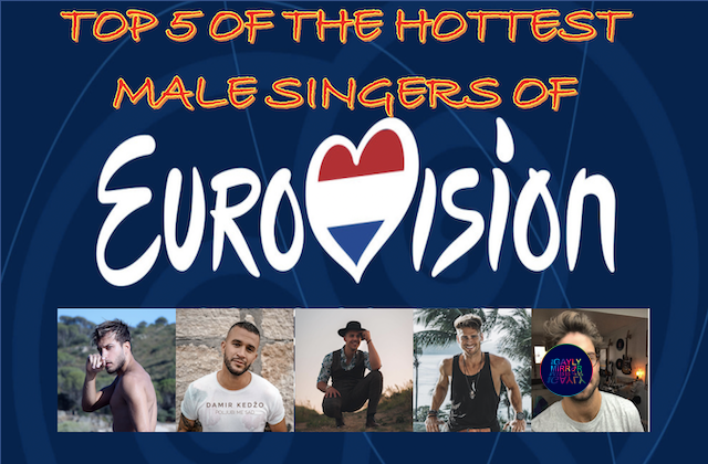Top 5 of the hottest male singers of eurovision 2020 #titina20