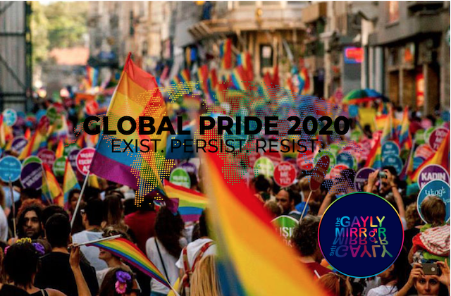 Global Pride: an online Pride to safely celebrate LGBT+ rights during COVID-19 pandemic.