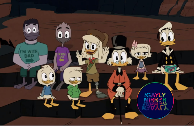 Ducktales gay family with Violet - TheGaylyMirror.com