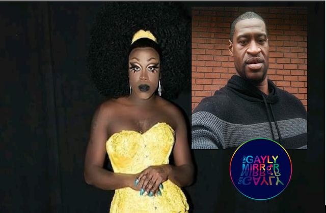 Bob The Drag calls for unity and voices speaking up about black and gay lives.