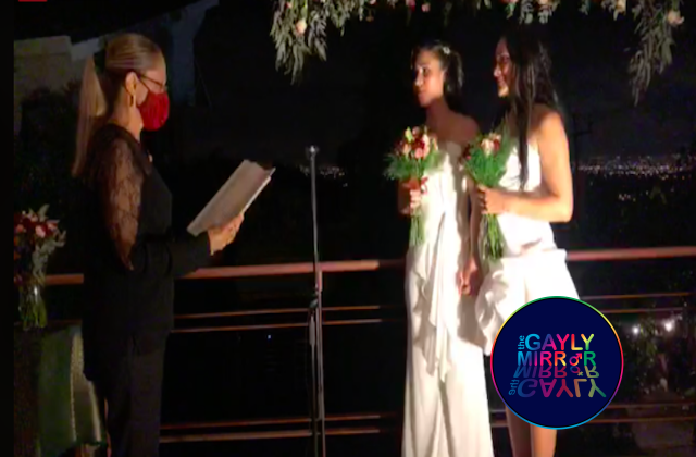 first lesbian couple to marry in costa rica