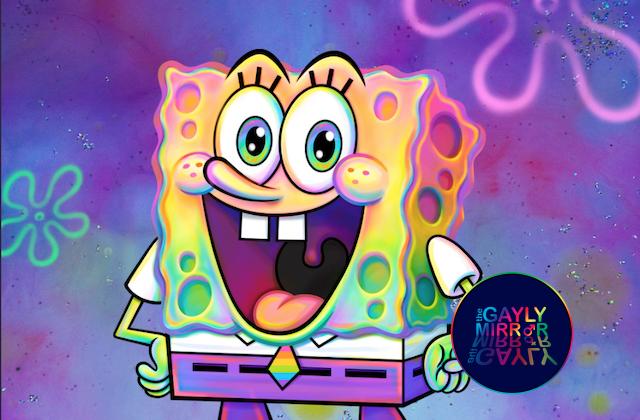 Spongebob LGBT+ Pride Month 2020