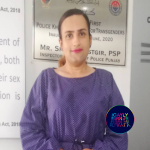 Pakistan: First transgender policewoman to become trans victims support officer.