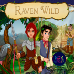 RAVEN WILD. A fairytale that teaches trans children how worthy they are.