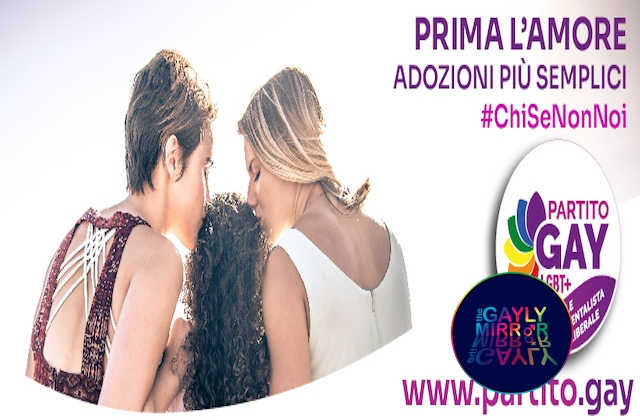Italian Political Panorama gets enriched with a completely LGBT+ Party: Partito Gay