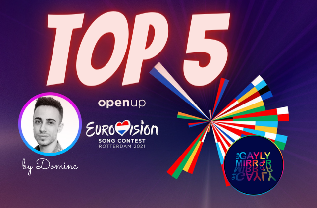 This is my TOP 5 for #ESC2021 with #Titina21
