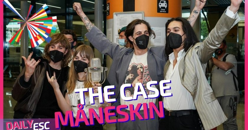 Eurovision 2021 – Måneskin are back in Italy and today they will be taking a drug test.