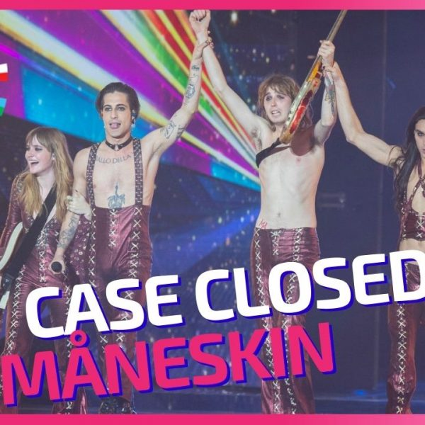 Eurovision 2021 – Måneskin case is finally closed!