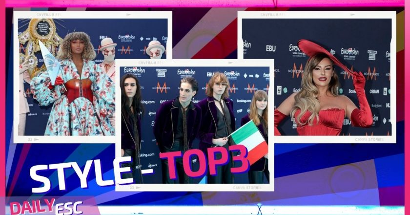 Eurovision 2021 – Turquoise Carpet – The best 3 outfits of the day