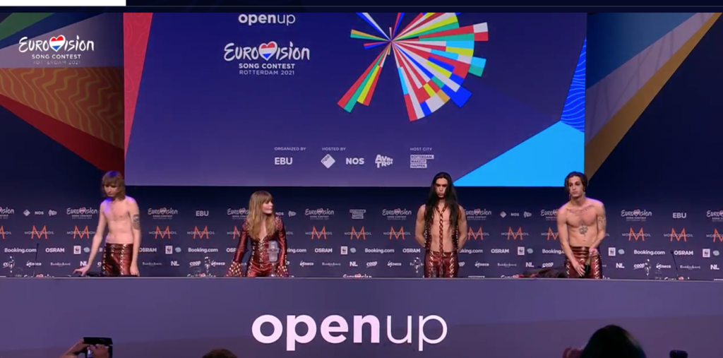 Eurovision 2021 winner - Måneskin - Italy -2