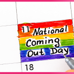 National Coming Out Day 2021 -  Love and embrace your-real-self!