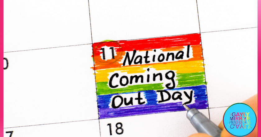National Coming Out Day 2021 –  Love and embrace your-real-self!